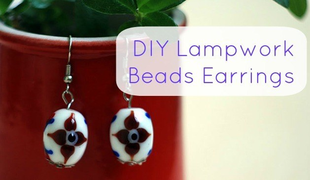 Lampwork Beads Earrings