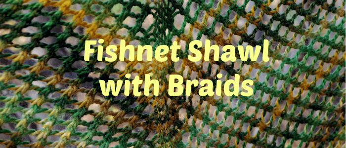 Fishnet Shawl title